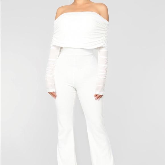 fe382c365262 Fashion Nova Kendall Jenner Ruched Jumpsuit